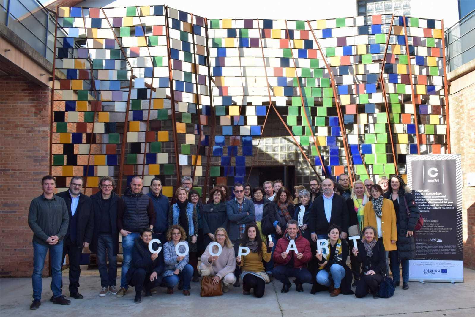 COOP'ART – POCTEFA: Juntos, Hacer Más Y Mejor Para La Valorización De Los Oficios Artísticos Y Del Turismo Sostenible